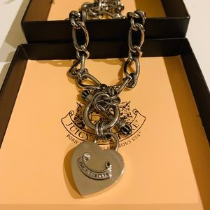 Juicy Couture Heart Padlock Necklace